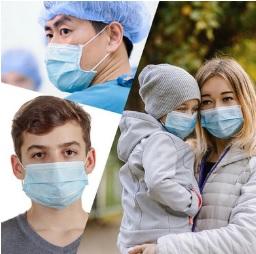Anwendung Mund- & Nasenschutz - Hygienemasken Familie